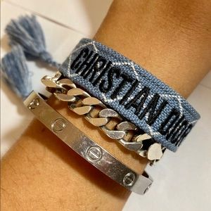 Dior CD friendship bracelet